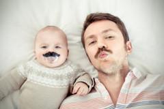 Säuglings-Ähnlichkeit: Ganz der Papa?!