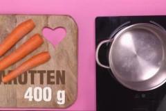 Karotten-Tomaten-Suppe