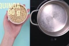 Ein Joghurt-Rezept mit Quinoa