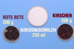 Rote Bete-Kirsch Smoothie