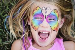 Kinderschminken: Vorlagen für Karneval & Fasching