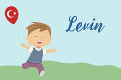 Türkische Vornamen: Levin