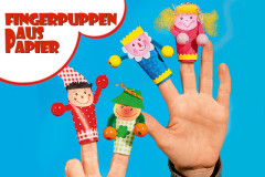 Fingerpuppen basteln