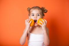 Farbwirkung auf Kinder: Orange