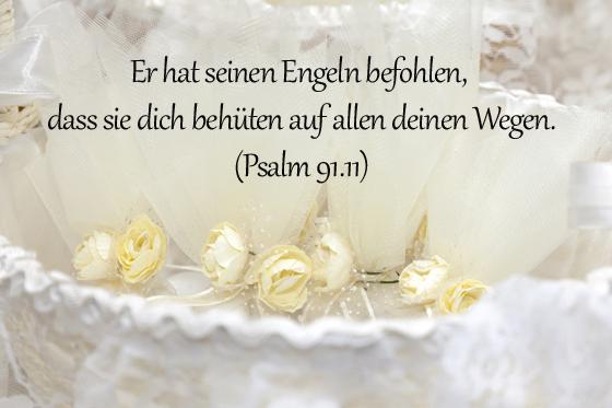 Taufsprüche: Psalm 91,11