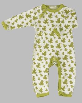Baby-Strampler mit Fröschen