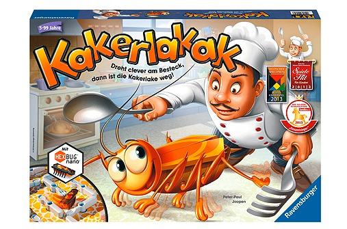 """""""Kakerlakak"""" ist ein witziges Aktionsspiel"""