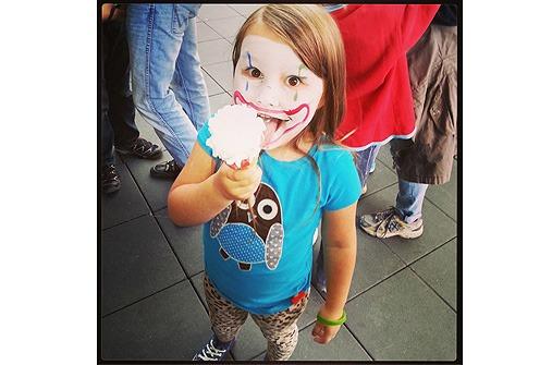 Kinderfotos im September: Birgit
