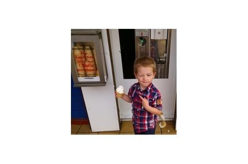 Kinderfotos im Juli: 9. Platz Joshua