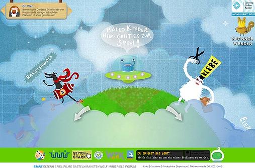 Ausgezeichnete Lernwebseiten für Kinder: multiverso