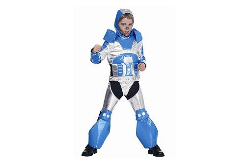 Starkes Roboter-Kostüm