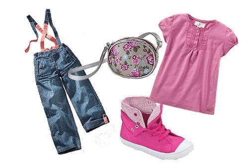 Kindermode für den Frühling: Pretty Pink