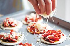 Blätterteig-Tomaten-Törtchen