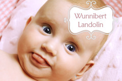 Chantalismus: Wunnibert Landolin