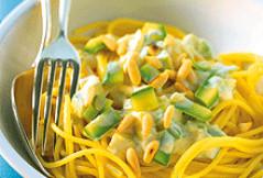 Rezept: Zucchini-Nudeln