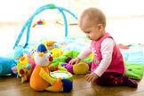 Sollte Spielzeug möglichst bunt sein?