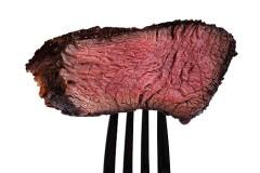 Fleisch:  2 - 3 Mal pro Woche