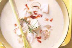 Fischsuppe mit Zitronengras und Galgant