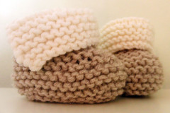 Baby-Boots stricken