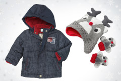 Baby-Winterjacke von Topomini