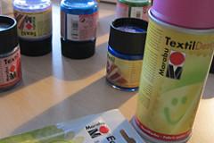 Textil-Farben im Test