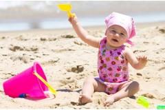 Sicheres Spielen am Strand