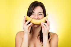Wer einen Jungen will, sollte Bananen essen!