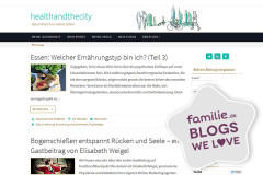 Lieblingsblogs: Health and the City