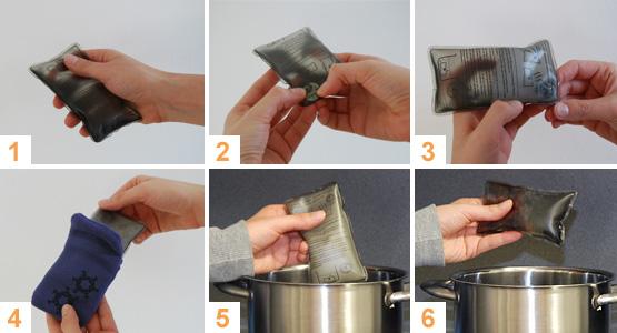 Taschen-Heizkissen im Test