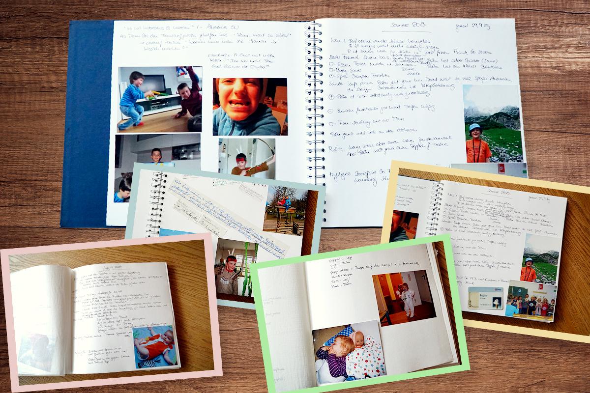 Erinnerungen an die Babyzeit aufbewahren - Familie.de