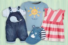 Sommermode für Babys