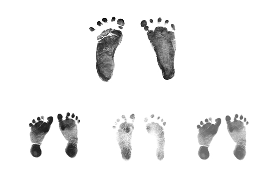 Babyrekord: Vier Babys in neun Monaten
