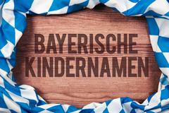 Bayerische Kindernamen