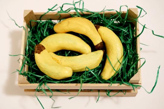 Kaufladensachen selbermachen: Bananen
