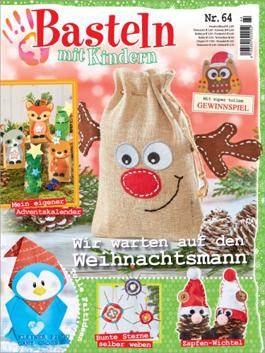 Cover: Basteln mit Kindern - wir warten auf den Weihnachtsmann