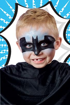 Batman Schminken In Zwei Schritten Familiede