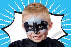 Batman in zwei Schritten