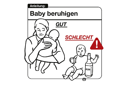 Bedienungsanleitung für das Baby: Baby beruhigen