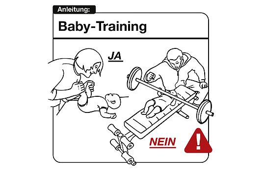 Bedienungsanleitung Baby: Baby-Training