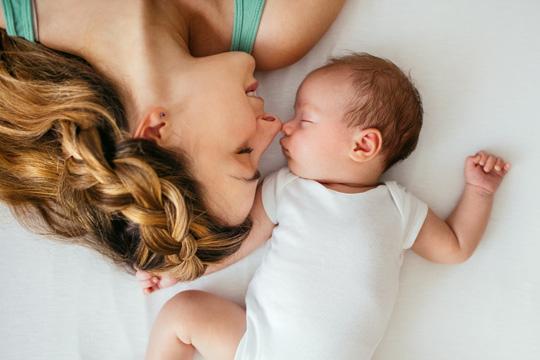 Baby schlafen legen