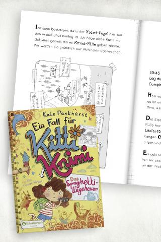 Comicbücher für Kinder: Ein Fall für Kitti Krimi