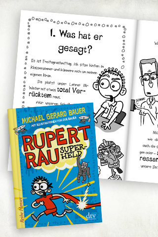 Comicromane für Kinder: Rupert Rau