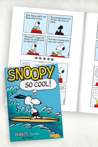 Comicbücher für Kinder: Snoopy - So cool!