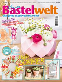 Cover: Meine Bastelwelt Ausgabe Nr. 34