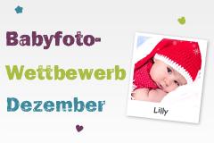 Babyfoto-Wettbewerb Dezember 2014