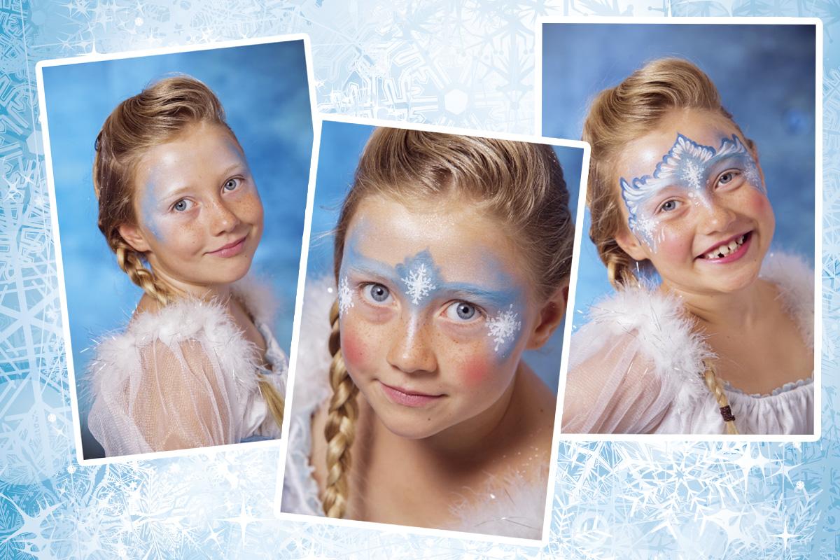 Eiskonigin Schminken Familie De