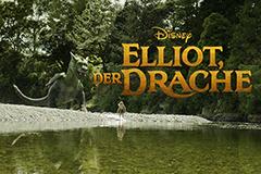 """Disneys """"Elliot, der Drache"""" zeigt, was passiert, wenn man einen Drachen als Freund hat."""