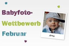 Babyfoto-Wettbewerb Februar