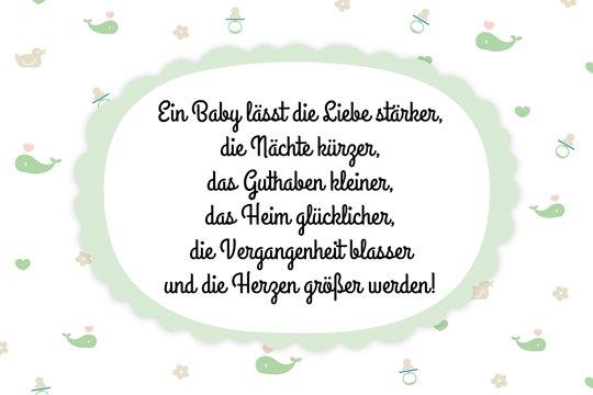 Berühmt Glückwünsche zur Geburt - Willkommen, Baby! - Familie.de #FV_02