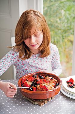 Kochen mit Kindern: Hähnchen im Topf